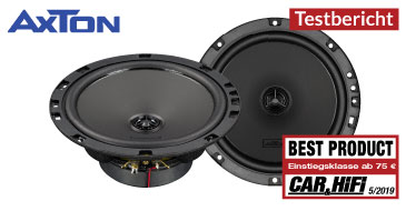 AXTON ATX Coax – Test Car & HiFi 05/2019