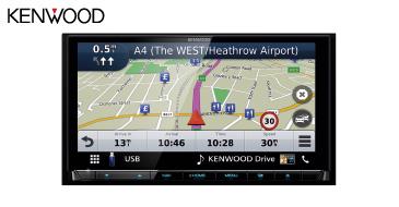 Kenwood DNX9190DABS: 2-DIN Navigationssystem