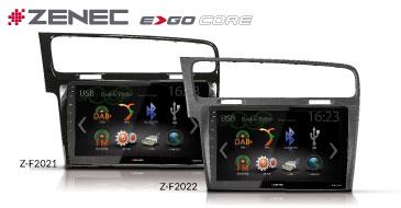 ZENEC E>GO Core Z-F2021 und Z-F2022 für VW Golf 7