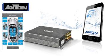 AXTON A530DSP: 4-Kanal DSP Verstärker, einstellbar per Smartphone