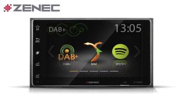 ZENEC Z-N328: 2-DIN Multimediasystem mit DAB+