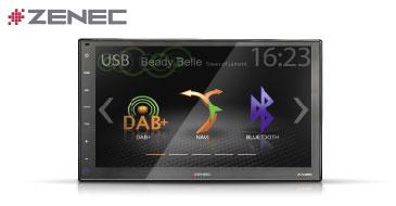 ZENEC Z-N956: 2-DIN Multimediasystem mit DAB+