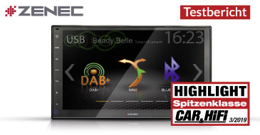 ZENEC Z-N956 – Test Car & HiFi 03/2019